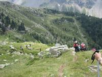 Abstieg zur Seebergalm