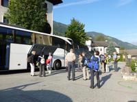 Ankunft in Freienfeld