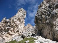 Wanderung vom Grödner Joch über das Cirjoch nach Kolfuschg