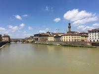 315 Florenz - Arno und Ponte Vecchio