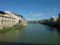 Blick von der Ponte Vecchio