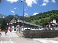 Talstation der Gondelbahn in Peio Fonti