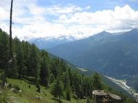 5 Almen Wanderung - Ausblick