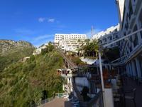 Sizilien, Letojanni, Lift vom Hotel Antares