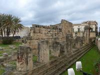 Sizilien, Syrakus,  Apollo-Tempel
