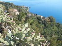 Taormina (Ausblick vom Piazza IX Aprile)
