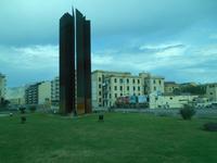 Stadtrundfahrt in Palermo (Denkmal für die Mafia-Opfer)