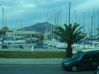 Stadtrundfahrt in Palermo - Yachthafen mit Monte Pelegrino