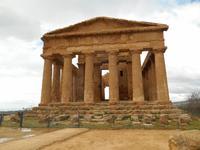 Tal der Tempel in Agrigent (Concordia-Tempel)