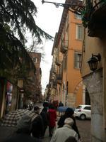 in den Gassen von Verona
