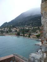 Panoramafahrt: Burg in Malcesine