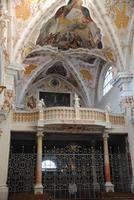 Klosterkirche Neustift im Bayerischen Barock-Stil Chorempore