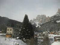 IMG_9061 Dolomitenrundfahrt - Fassatal - Blick zum Rosengarten