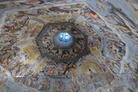Silvesterreise Florenz 2017 Domkuppel mit  Jüngstem Gericht von Vasari