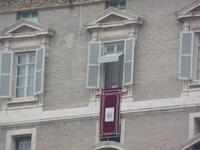 083 Neujahrsansprache des Papstes auf dem Petersplatz