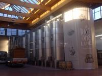 Grappa-Destille Marzadro - Speicher für das Ausgangsprodukt