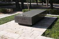 Grab von MInisterpräsident  Peres