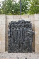 Denkmal für Janusz Korczak Polnischer Pädagoge und Arzt der mit seinen Schützlingen in den Tod ging
