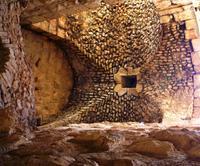 Ajlun - Festung Qalaat ar-Rabad - Deckengewölbe