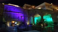 Petra Guest House am Abend