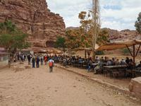 Mittagspause in Petra