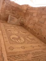 Mosaike in der byzantinischen Kirche