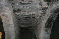 0020 besondere Bauweise im Wüstenschloss Qasr al-Azraq