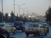 Feierabendverkehr in Amman