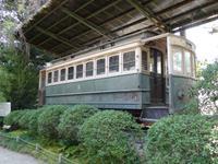 Kyoto - Heian-Schrein, erste Straßenbahn