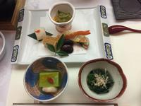 Abendessen im Ryokan