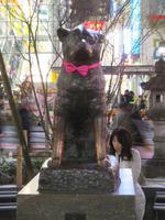 Hachi ko Statue