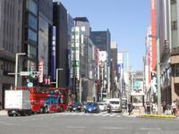 Tokio - Ginza - Einkaufstsraße