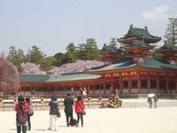 Kyoto - im Hof des Heian - Schrein