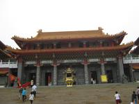 Der riesige Wenwu-Tempel