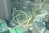 Blick vom Taipeh Tower