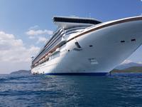 Unser Schiff Golden Princess vor Nha Trang