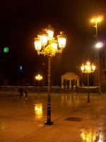 Skopje am Abend