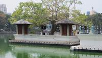 0096 Stadtrundfahrt Colombo - Wasser-Tempel -