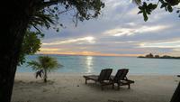0921  Malediven - Paradies Island Resort  - Sonnenaufgang