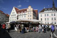Tallinn . Rathausplatz