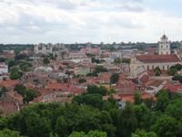 Vilnius- Blick auf die Altstadt