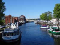 Klaipeda - Blick Richtung Hafen