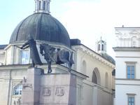 Vilnius: Gediminas-Denkmal