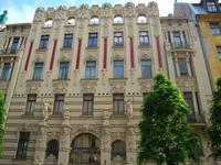 Riga: Jugendstilgebäude
