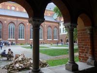 Kloster am Dom von Riga - hier Kreuzgang