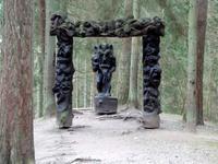 Auf dem Hexenberg in Juodkrante bzw. Schwarzort