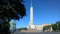 Riga, Bummel durch die Stadt, Freiheitsdenkmal i