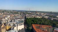 Riga, Blick vom Radisson Blu Hotel , 26. Stock