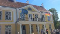 Tallin, Stadtführung auf dem Domberg, Deutsche Botschaft