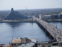 Nationalbibliothek an der Düna in Riga